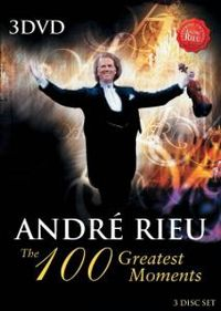 Cover André Rieu - The 100 Greatest Moments [DVD]